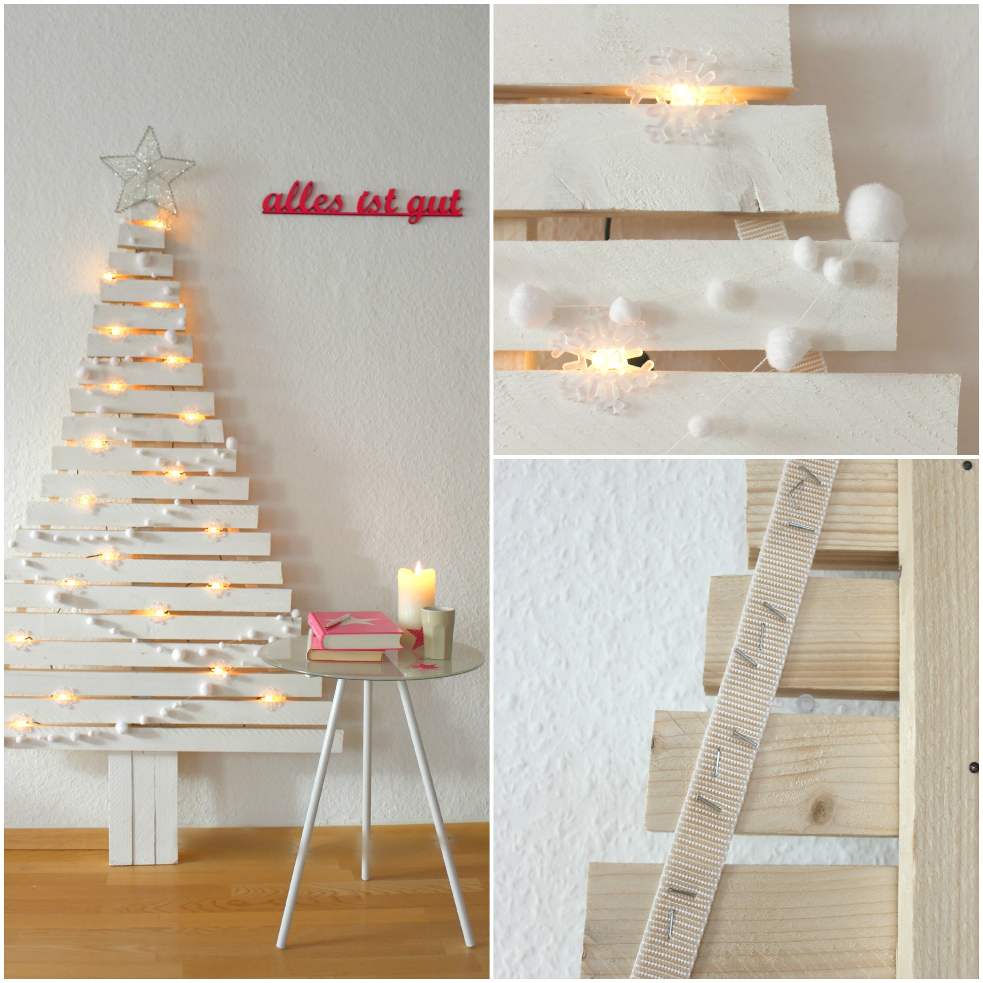 weihnachtsbaum aus holzlatten diy weihnachtsbaum aus holzlatten muttis n hk stchen. Black Bedroom Furniture Sets. Home Design Ideas