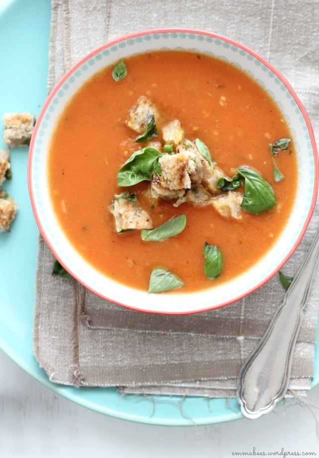 EmmaBee.Tomatensuppe4